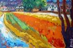 het-oranje-veld-voor-antons-huis-70x90-olie-op-doek