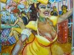 carnaval-rio-in-geel-olie-op-doek-100x120