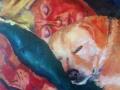 anne-en-plus-slapend-olie-op-doek-50x60