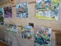 diverse-schilderijen-te-drogen-in-de-poort-bij-claire-bianchi