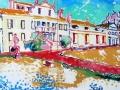 chateau-frankrijk-tweeluik-olie-op-doek-100x240