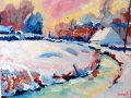 winter-in-thiembronne-30x40-olie-op-doek