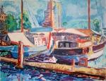 veerhaven-impressionistisch-olie-op-doek-100x120